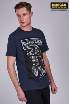 חולצת טי שלBarbour® International דגםSteve McQueen Ringa