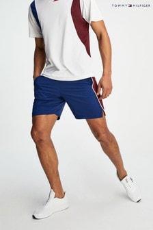 Thommy Hilfiger Shorts mit Blockstreifen, blau