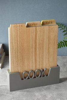طقم من3 ألواح تقطيع خشبية