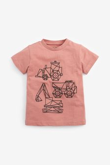 Digger T-Shirt (3mths-7yrs)