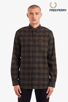 Fred Perry Brushed Oxford Tartan Check Shirt