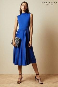 Ted Baker Crimsin Sleeveless Jersey Printed Dress