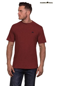 Raging Bull Burgundy Signature T-Shirt