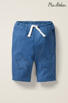 Boden Blue Patch Knees Trousers