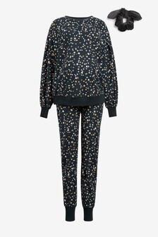 Maternity Cosy Pyjamas With Scrunchie