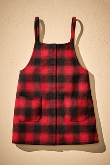 Check Pinafore (3-12yrs)