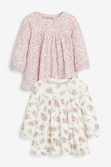 2 Pack Tunic Tops (0mths-3yrs)