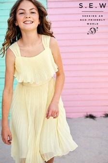 فستانأصفربطيات ItaliaمنMonsoon