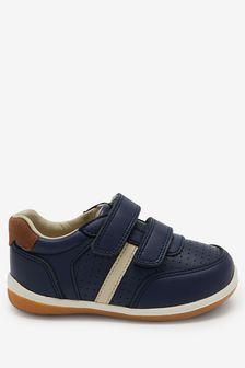 Кожаные ботинки для малышей (Младшего возраста)