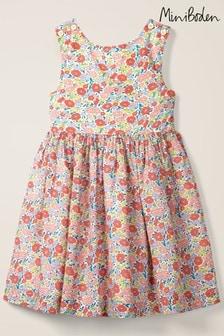 Boden Kleid mit überkreuzter Rückseite