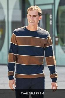 Rugby Stripe Long Sleeve Top