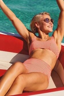 Emma Willis bikinibroekje met hoge taille