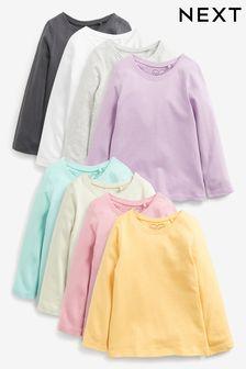 8 Pack Organic Cotton T-Shirts (3mths-7yrs)