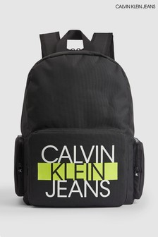 Calvin Klein Black Back To School Backpack