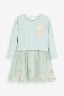 Bunny Top And Skirt (3mths-7yrs)
