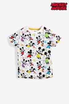 Tričko s krátkymi rukávmi s celoplošnou potlačou Mickey Mouse™ (3 mes. – 8 rok.)