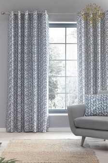 Appletree Loft Blackout Eyelet Curtains