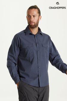 Craghoppers Blue Kiwi Long Sleeve Shirt