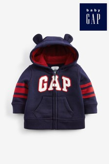 Gap Fleece-Kapuzensweatshirt, blau