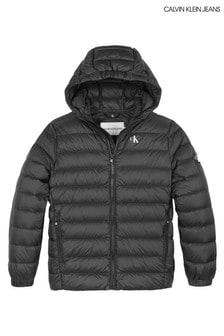 Calvin Klein Black Lightweight Down Jacket