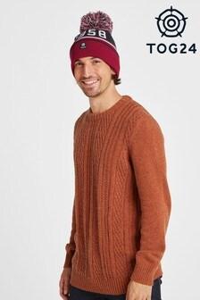 Красная вязаная шапка Tog 24 Tebworth