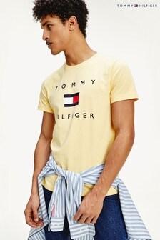 Tommy Hilfiger T-Shirt mit Flaggenlogo