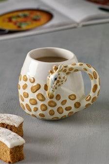 Giraffe Shaped Mug