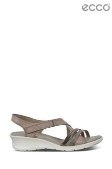 ECCO® Felicia Multi Strap Low Wedge Sandals
