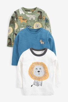 3 Pack Lion T-Shirts (3mths-7yrs)