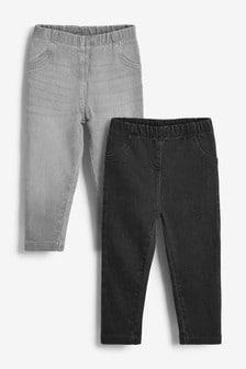 貼腿褲2件組 (3個月至7歲)