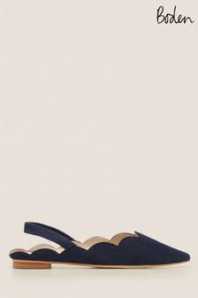 Boden Blue Lilian Slingback Shoes