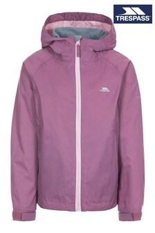 Фиолетовый женский дождевик Trespass Impressed