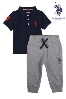Koszulkapolo i spodnie dresowe U.S. Polo Assn. Player