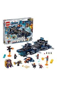 Конструктор «Мстители: Вертолет-перевозчик» LEGO® Marvel® 76153