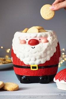 Santa And Friends Treat Jar