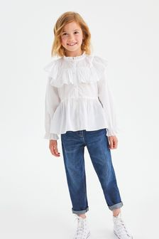 Блузка с рюшами (3-16 лет)