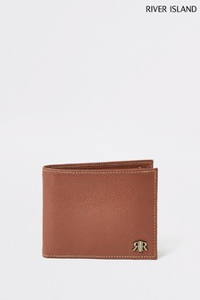River Island Brown Pebbled Wallet