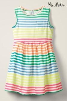 Boden Jerseykleid mit Taschen, mehrfarbig
