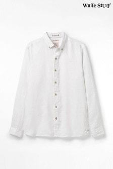 חולצת פשתן של White Stuff דגם Quayside בצבע לבן