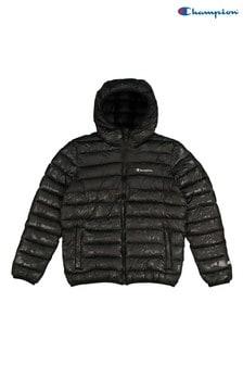 Champion Jacke mit Kapuze, schwarz