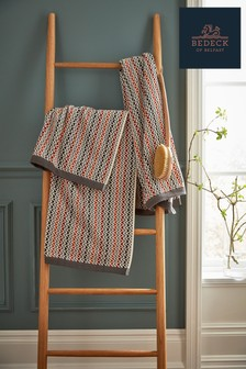 Bedeck of Belfast Alani Chevron Cotton Towel