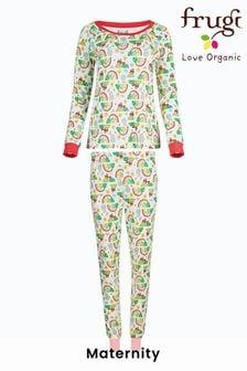 Frugi GOTS Organic Ladies Pyjamas - Happy Days Print