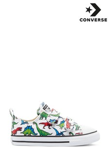 Converse 2V Dinosaur Trainers