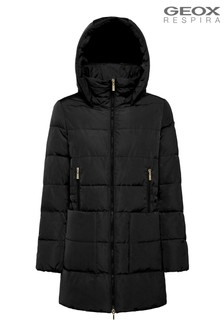 Geox Womans Asheely Black Jacket