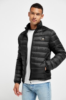 Shower Resistant Funnel Neck Puffer Jacket With Dupont Sorona® Insulation (274812)   $66