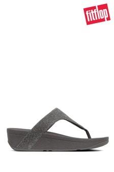 FitFlop™ Grey Lottie Glitzy Toe-Thong