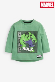 Hulk Jersey Long Sleeve T-Shirt (3mths-8yrs)