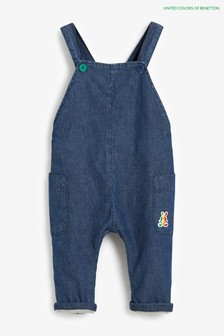 Benetton Denim Dungarees
