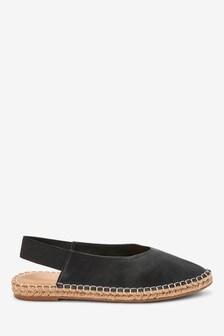 Espadrille Slingback Shoes