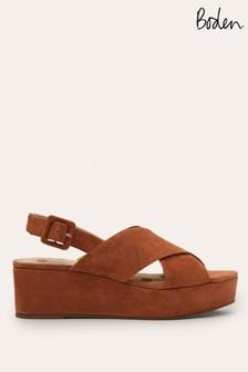 Boden Tan Olwen Sandals